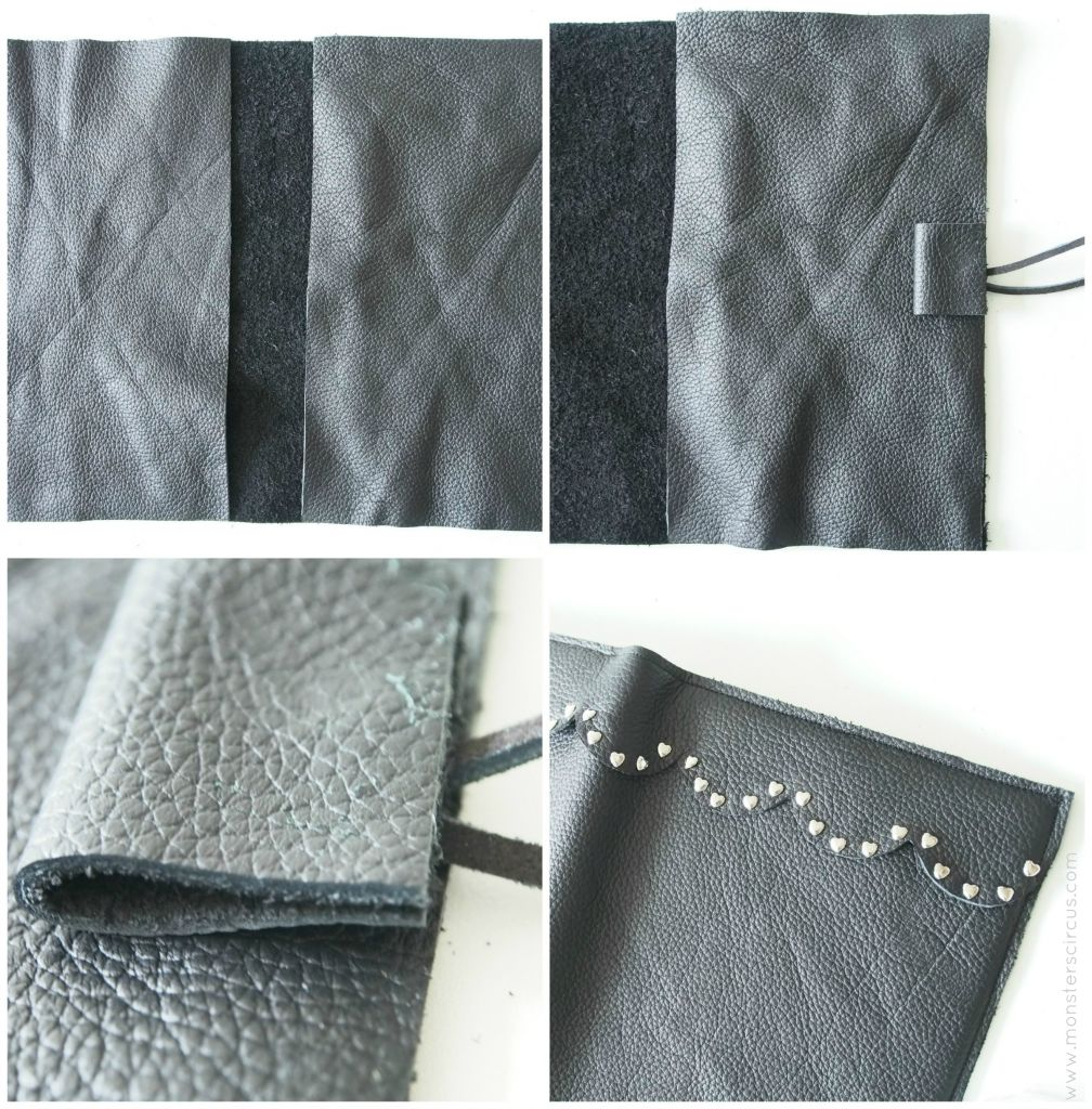 DIY leather cover