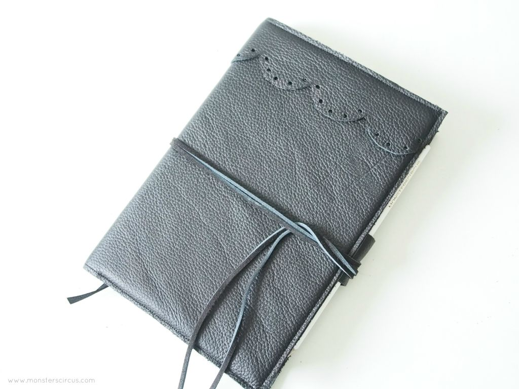 Leather cover DIY