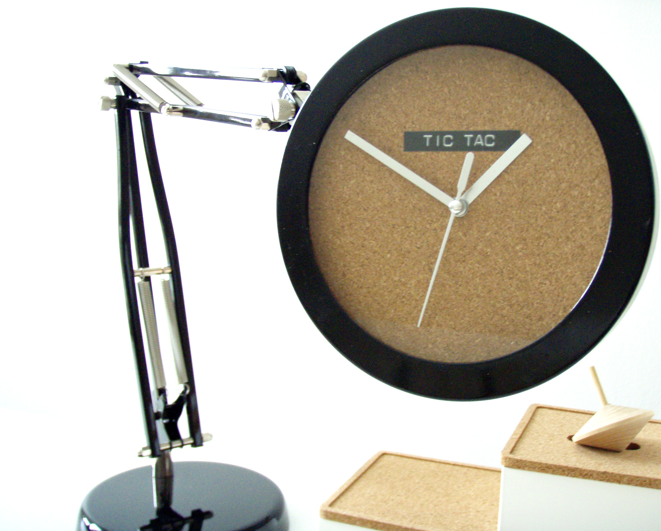 DIY adjustable desk clock